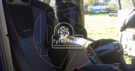 Nissan Patrol Y60 z fotelami Recaro
