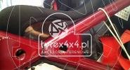 Adaptery do foteli Sparco do Toyoty Kzj