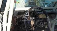 Przerobiony kokpit do Toyoty Kzj73 z klatką bezpieczeństwa