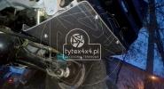 Aluminiowa osłona drążków kierowniczych Nissan Patrol Y61