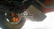 Aluminiowa osłona główki tylnego mostu do Toyoty 90