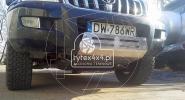 Aluminiowa osłona przodu Toyota LC 120