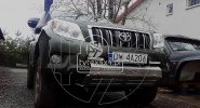 Aluminiowa osłona przodu Toyota Land Cruiser 155