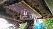 Aluminiowa osłona skrzyni biegów Nissan Patrol Y60
