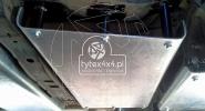 Aluminiowa osłona skrzyni biegów i reduktora do Toyoty Hilux
