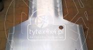 Aluminiowa osłona skrzyni biegów i silnika Volkswagen T3 Syncro VW