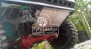 Aluminiowa osłona drążków kierowniczych do Nissana Patrola GU4