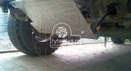 Aluminiowa osłona drążków kierowniczych do Nissana Patrola Y61