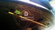 Karbonowa osłona silnika z wzmocnieniem pod podnośnik - Mitsubishi Lancer Evo