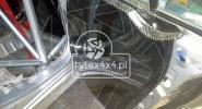 Karbonowe boczki na drzwi do Mitsubishi Lancer a Evo 8