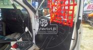 Siatki ochronne na okna kierowcy i pasażera