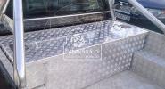 Aluminiowa skrzynia na pakę pickup-a