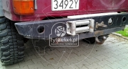 Tylna wyciągarka w Nissanie Patrolu Y60