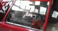 Szyba z poliwęglanu z przesuwanym oknem do Toyoty Kzj