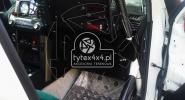 Kokpit pilota do auta rajdoweg