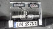 Aluminiowy uchwyt na led-owe halogeny do Toyoty Kzj