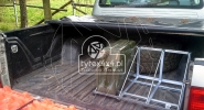 Uchwyt na 3 kanistry do Pick-up-a Toyota Hilux