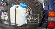 Uchwyt na kanister o pojemności 10l. do Toyoty LC 90