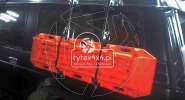 Uchwyt na trapy do Nissana Patrola Y60