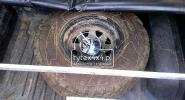 Uchwyt na koło zapasowe do Pick-up-a, Toyota-Hilux