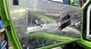 Aluminiowa tapicerka drzwi Fiat X