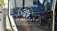Aluminiowa tapicerka drzwi Nissan Patrol Y60