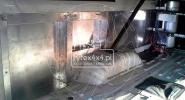 Aluminiowe wykończenie wnętrza Toyota Hzj 78