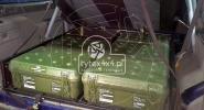 Zabudowa z funkcją spania i sześcioma skrzyniami do Nissana Patrola Y61