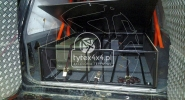 Zabudowa z funkcją spania Nisan Patrol Y60