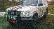 Aluminiowy zderzak przedni do Toyoty Hzj 105