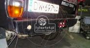 Aluminiowy zderzak tylny do Toyoty Kzj