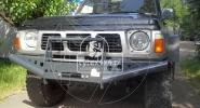 Przedni zderzak stalowy do Nissana Patrola Y60
