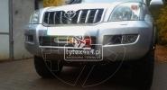 Stalowa płyta pod wyciągarkę do Toyoty Land Cruiser 120