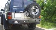 Tylny zderzak stalowy do Nissana Patrola Y60