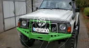 Zderzak Stalowy przedni Nissan Patrol Y60