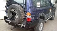 Zderzak stalowy tylny Toyota Land Cruiser 90