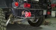 Tylny stalowy zderzak do Jeepa Wranglera